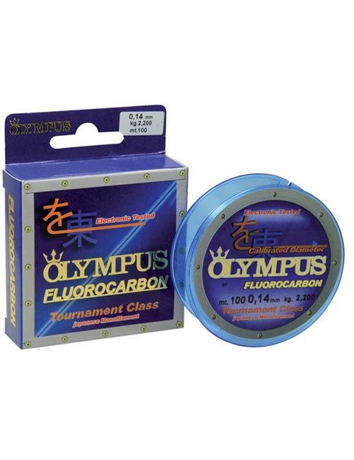 Il Fluorocarbon Olympus è un monofilo ormai diventato quasi indispensabile per i tipi di pesca più tecnici. Totalmente invisibile in acqua. Distribuito in bobine da mt.100