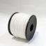 Rotolo poliestere per mulinelli e pedagni ad alta tenacità mm 1,5 metri 60. Disponibile in bianco.